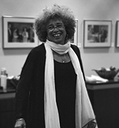 Dr. Angela Davis on Friday, September 30th before her closing keynote address at the Black Matters Conference