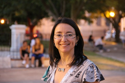 Dr. Natalia Mazzaro, researcher on bilingualism from the University of Texas at El Paso