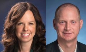 (Left) Kelly Rader, the Department of Government. (Right) Jeffry Clemens, the Department of Economics.