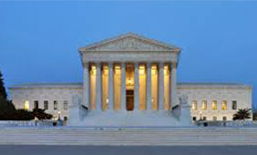 The west facade of United States Supreme Court Building. Photo by Joe Ravi, Creative Commons (CC-BY-SA 3.0)