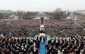 Donald Trump's Inauguration, Jan. 20, 2017