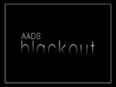 #AADSBLACKOUT Social Media Campaign