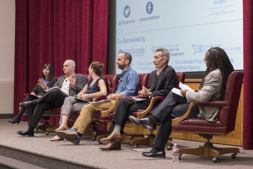 Opportunity Forum panel on charter schools
