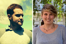 Edward Shore and Chloe Ireton, UT History Ph.D. Program