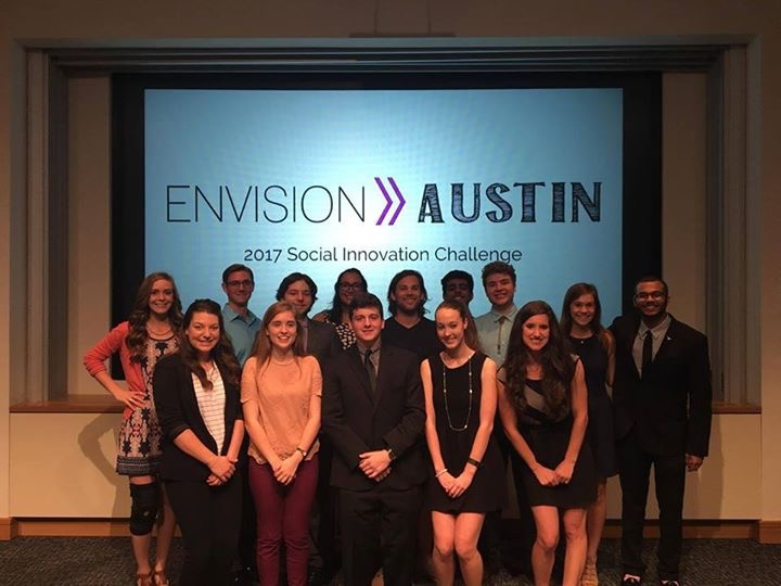 Winners of Envision Austin 2017