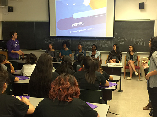 INSPIRE Panel for Middle School students at UT Austin