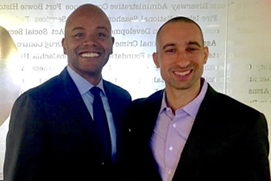 Prof. Peniel Joseph and Coach Shaka Smart