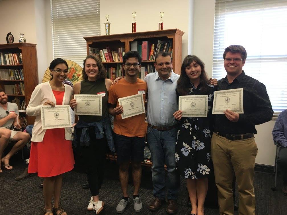 Congratulations to our Undergraduate Spring Festival Winners!