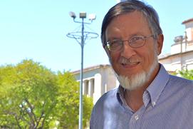 Prof. Bruce J. Hunt in Austin, Texas.