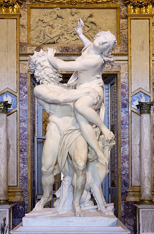 Looking at Italian history through language (depicted: Rape of Proserpina)