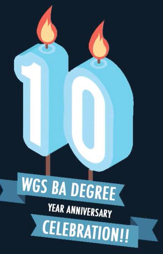 10-Year Celebration of the WGS BA Program