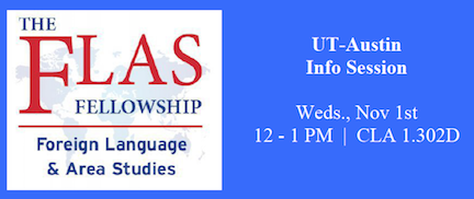 FLAS Info Session: RSVP Required