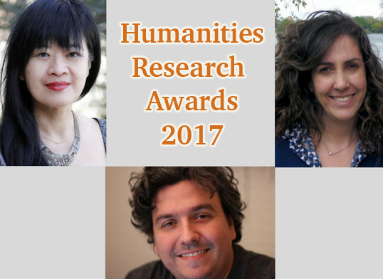 English Faculty Awarded Humanities Research Fellowships
