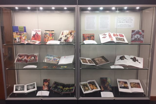 PCL Scholars Commons Exhibit - South Asian Visual Culture: From Traditional Arts to Mediums of Modernity