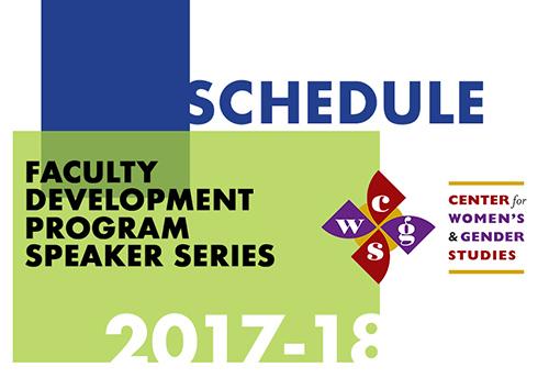 CWGS  Faculty Development Program Speaker Series