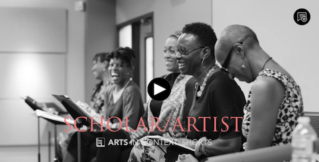 Arts in Context: Scholar/Artist