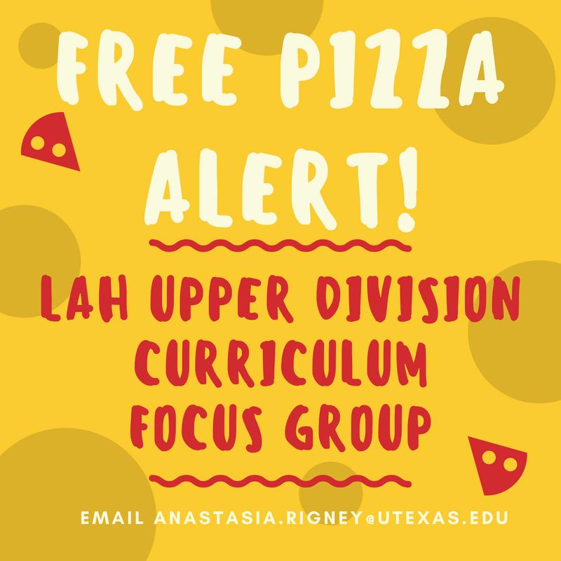 LAH Upper Division Curriculum Focus Group