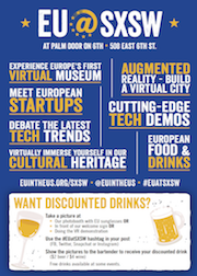 EU @ SXSW: March 10-12