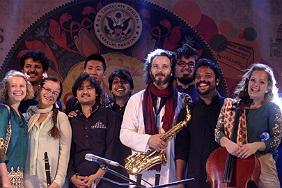 Sangat! performing at SXSW