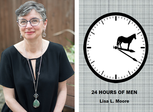 "Lisa Moore Publishes New Chapbook ""24 Hours of Men"""