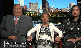 Martin Luther King III and his family