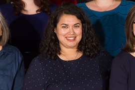 Jackie Llado, Faculty Matters Coordinator. Photo: Brian Birzer