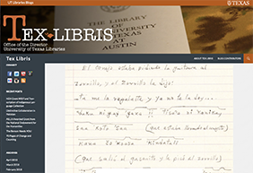 UT Libraries Blog