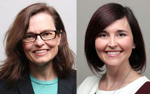 Drs. Kirsten Bradbury and Jacqueline Evans