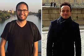 Ph.D. Candidates, Nicolás González Quintero & Ernesto Mercado-Montero