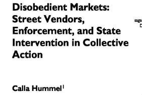 Calla Hummel - Disobedient Markets