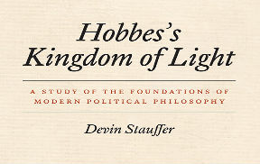 Devin Stauffer's New Book from University of Chicago Press