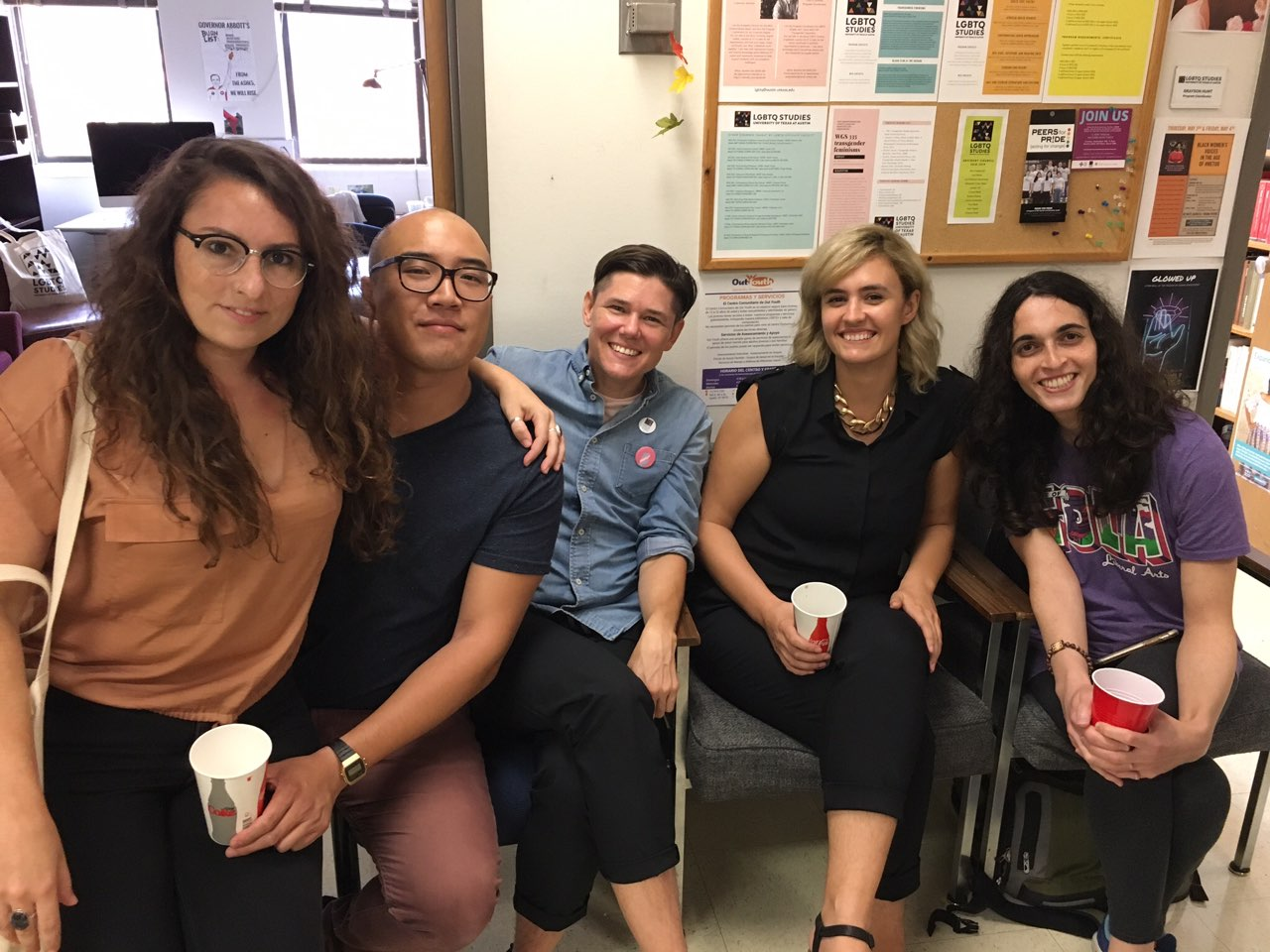AAS, WGS and LGBTQ Studies Staff, Students, and Friends