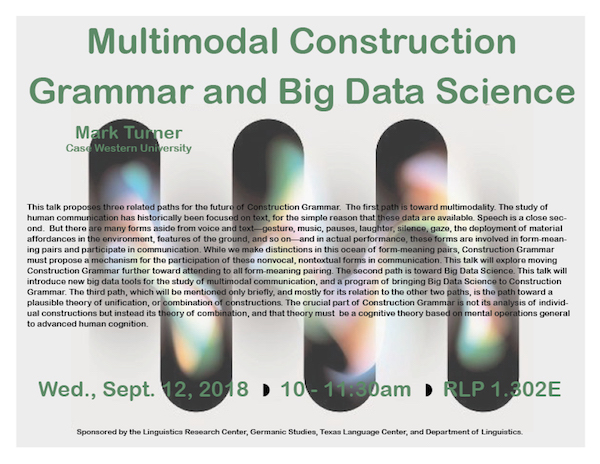 Dr. Turner looks at Construction Grammar and Big Data