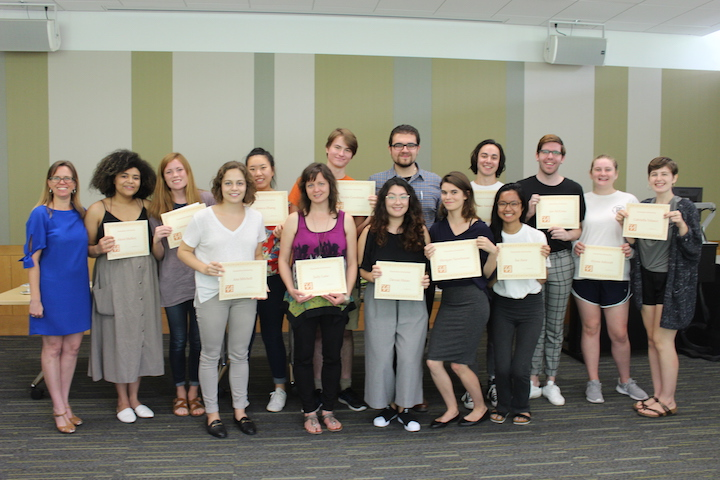 Congratulations to the recipients of the 2018 Humanities Scholarships!