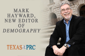 Mark Hayward, PRC Graduate Training Director, has been named the editor of Demography