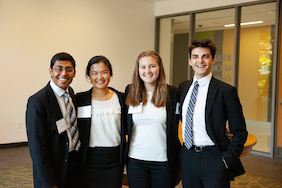 Plan II students on teams selected for President's Award for Global Learning