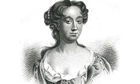 Aphra Behn.