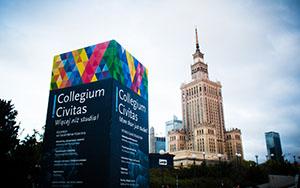 Collegium Civitas campus in Warsaw