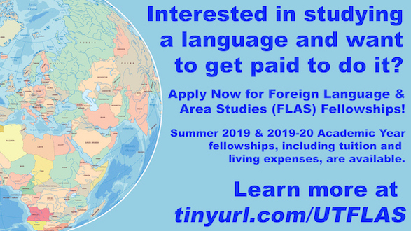 FLAS Fellowship Applications Available!