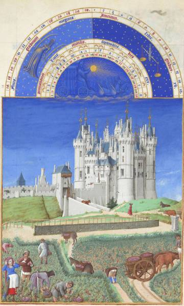 September, from the Très Riches Heures du Duc de Berry
