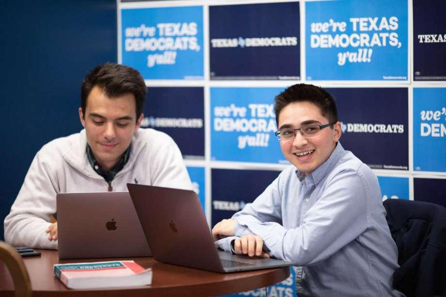 Ali Zaidi (right)