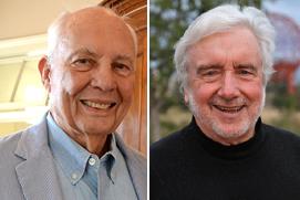 Tom Ward (l), and Brian Levack (r)