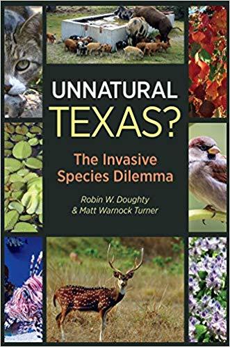 Professor Emeritus Robin Doughty and Alum Matt Turner Author Invasive Species Book