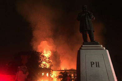 Brazil Historians Discuss Devastating Museum Fire (Audio)
