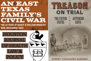 New Publications by UT History Visiting Committee Members