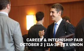 The Career & Internship Fair is on October 2! Check out the list of attending employers and their opportunities.