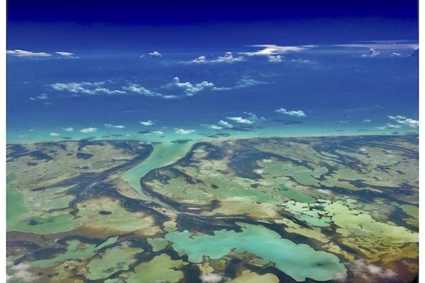 """""""Where the Ocean Meets the Sky"""" Bahamas, Preston McLaughlin"""