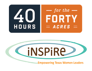 SAVE THE DATE Help Support INSPIRE on April 3 & 4 during the 40 Hours for the Forty Acres