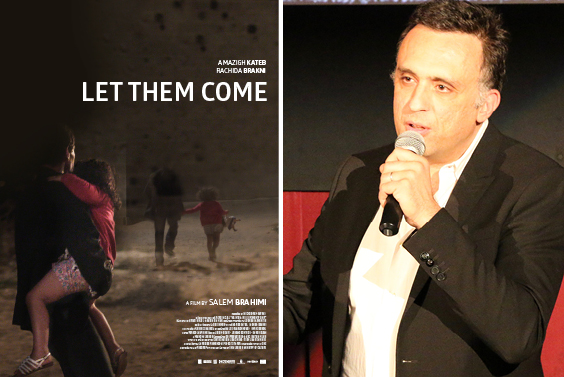 "Left: ""Let Them Come"" film poster. Right: The film"