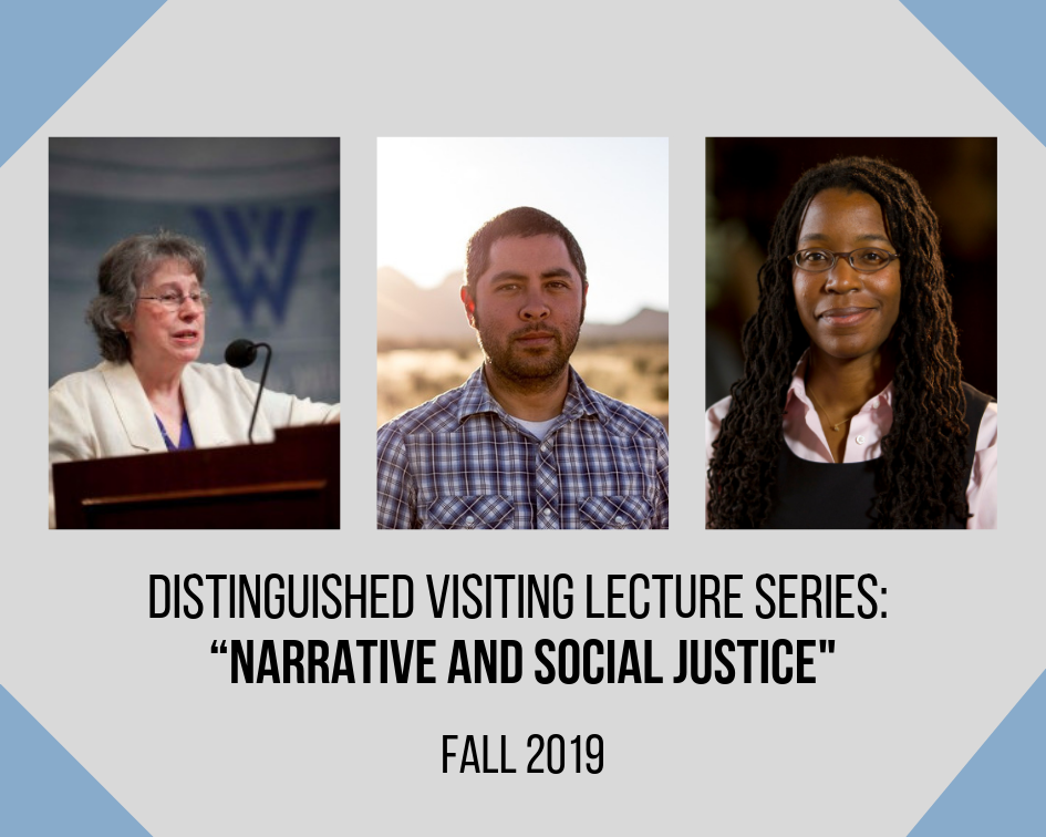 Announcing the Fall 2019 Distinguished Visiting Lecture Series